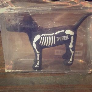 NWT RARE Victoria's Secret PINK Skeleton Dog
